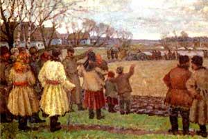 В. Крихацкий «Первый трактор»