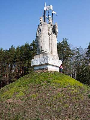 """Памятник """"Стояние на Угре 1480"""""""