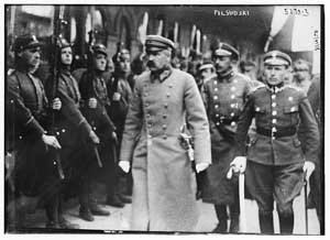 Юзеф Пилсудский в Минске. 1919
