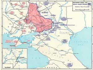 Боевые действия с 7 мая по 23 июля 1942
