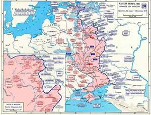 Наступление немецких войск в ходе операции «Тайфун» 26 августа — 5 декабря 1941 г.