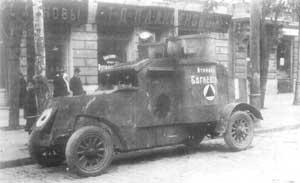 «Атаман Богаевский» -броневик Донской армии.