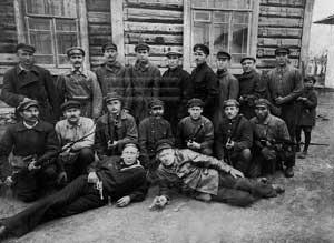 Участники Красной гвардии 1917—1918 гг.