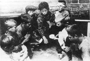 Бездомные дети (Беспризорники) в период Гражданской войны
