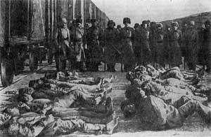 Жертвы Белого террора. Сибирь. 1919 год.