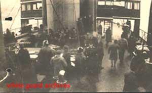 Эвакуация населения и Северной русской армии генерала Миллера в Норвегию.