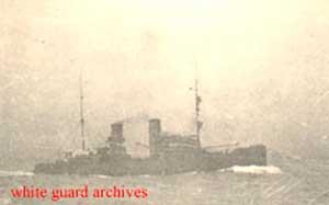 Ледокол «Козьма Минин» в Горле Белого моря. 1920 г.
