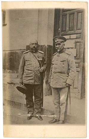Юденич, Николай Николаевич (слева)