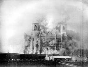 Взрыв Храма Христа Спасителя в Москве. 1931 г.
