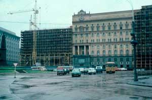 Главное здание КГБ на Лубянке