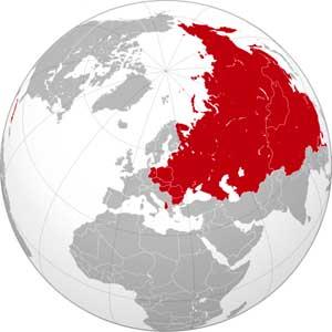 Максимальная территория стран мирового социалистического содружества