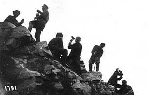 Заключённые на строительстве Беломорканала.