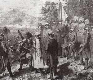 Сдача в плен Имама Шамиля (П. З. Захаров-Чеченец)