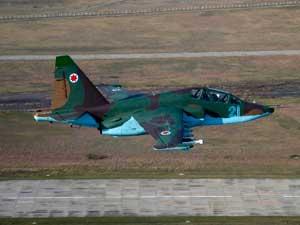 Су-25УБ грузинских ВВС