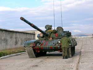 Т-72 грузинской армии