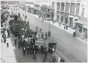 Июльская 1917 демонстрация в Петрограде
