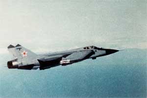 Сверхзвуковой всепогодный истребитель-перехватчик 4-го поколения МиГ-31
