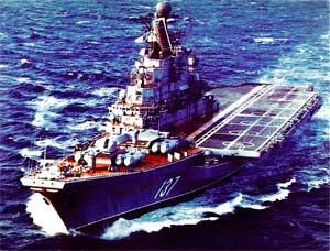 ТАКР «Новоросийск», 1986 год.