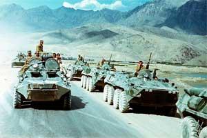 Войска ОКСВА на марше