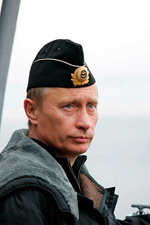 Верховный главнокомандующий Вооружёнными силами Российской Федерации — Владимир Путин