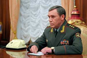Начальник Генерального штаба генерал армии Валерий Герасимов