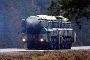 РТ-2ПМ «Тополь» из состава 54-й гврд
