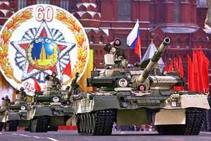 Колонна танков Т-80