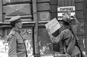 Создание советской комендатуры в Гродно