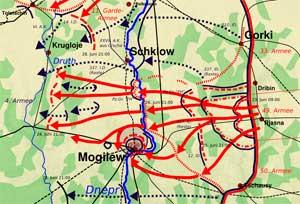 Действия советской 49-й армии в сражении за Могилёв