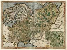 Russia, Меркатор, 1595