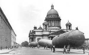Исаакиевский собор во время блокады Ленинграда