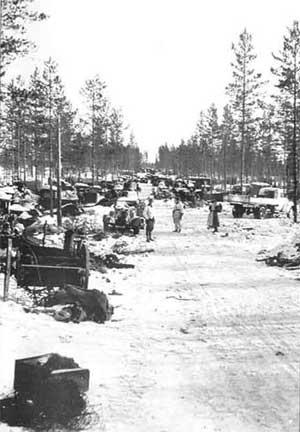 Южное Леметти после занятия финскими войсками