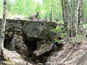 Дот SJ4 («Форт Поппиуса») — один из сильнейших фортов на линии Маннергейма