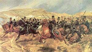 Атака лёгкой кавалерии. Ричард Вудвилл