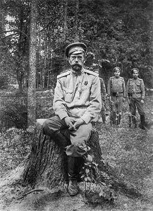 Одна из последних фотографий Николая II, сделанная во время его ссылки в Тобольске