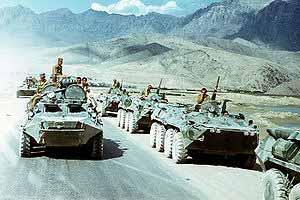 Советские войска на войсковой операции