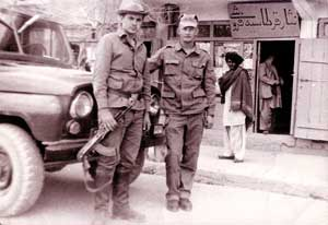 Воины десантно-штурмовой бригады, дислоцировавшейся в Гардезе.