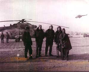 Ми-8МТ в небе и на земле (1987).