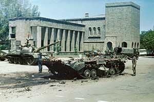 Улицы Кабула на следующий день после революции, 28 апреля 1978