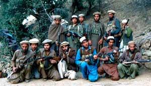 Моджахеды Исламской Партии Афганистана, 1987 год.