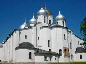 Собор св. Софии, премудрости Божией, в Новгороде — символ республики.