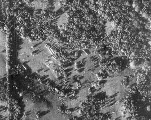 Первое изображение советских ракет на Кубе, полученное американцами.