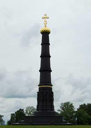 Памятник в честь победы на Куликовом поле по проекту А. П. Брюллова. 0848.