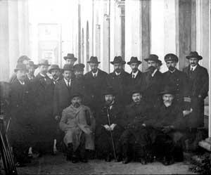 Президиум всероссийского демократического совещания (Петроград, Александровский театр, 14-22 апреля 1917 года по старому стилю)